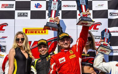 Debut and victory on the circuit of Virginia International Raceway