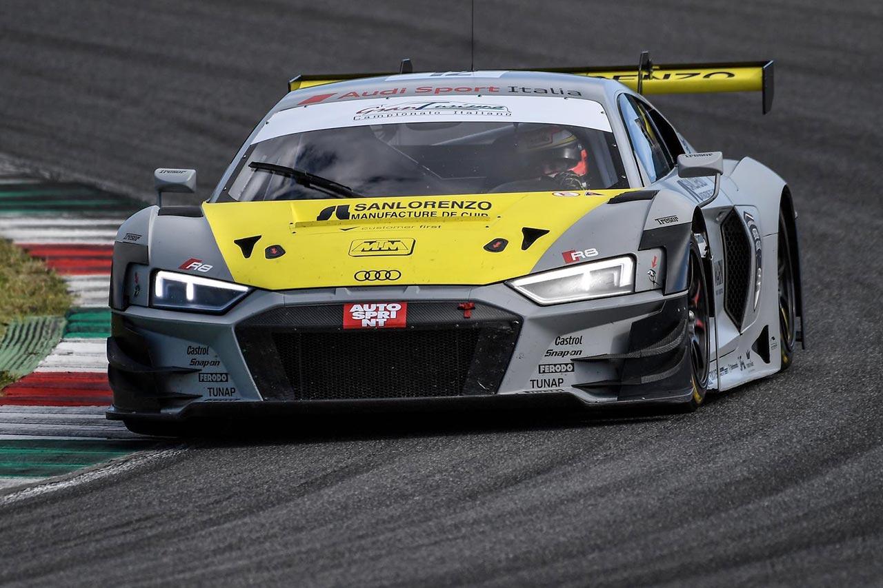 First round of the Italian Gran Turismo Sprint Championship